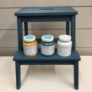 Fusion Mineral Paint 101 Ikea Step stool