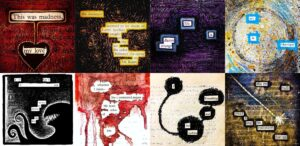 fade-into-blackout-poetry-at-extending-grace-shop-hubbard-ohio-event