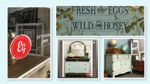 Examples of painted furniture at extendinggrace.net
