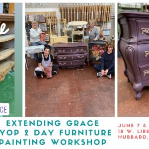 Learn how to paint your own furniture at @extendigngrace